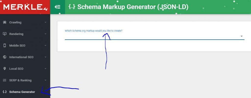 schema generator merkle